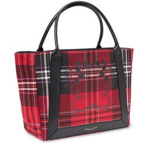 Victoria's Secret Plaid Tote NWT